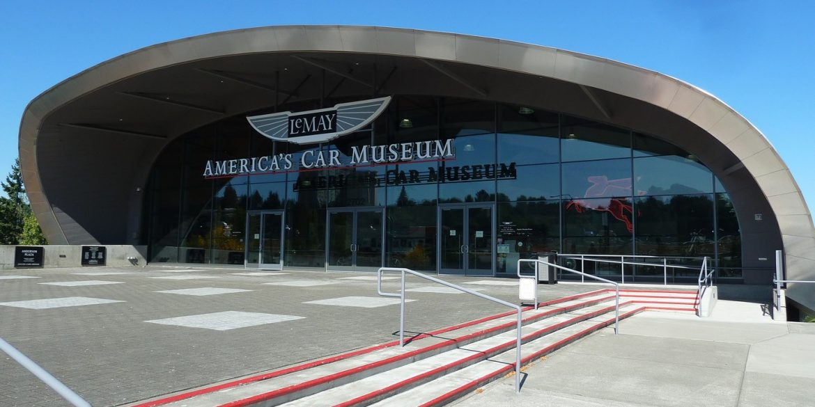 Front outside view of America's Car Museum