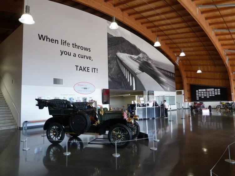 Front voyeur of America's Car Museum