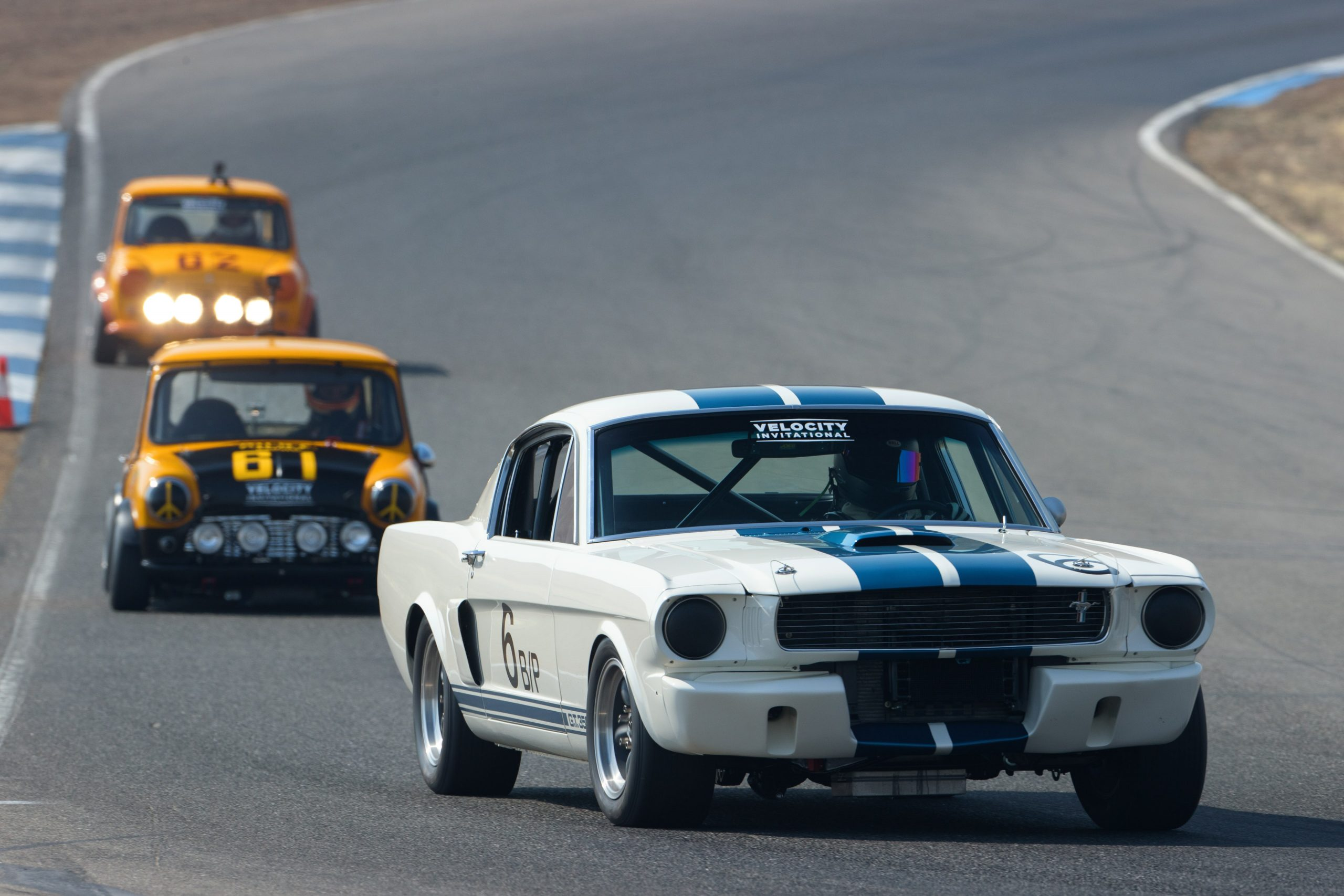 Mini Vs Mustang Night Race from Kahn Media